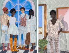 <p>Toyin+Ojih+Odutola+is+a+contemporary+artist+who+focuses+on+identity+and+the+concept+of+skin+color+through+her+pen,+ink,+and+charcoal+drawings.+Toyin+was+born+in+Ifé+in+1985.+When+Toyin+was+nine+years+old,+her+parents+moved+the+family+from+Nigeria+to+Alabama+in+the+U.S.A.,+Alabama+…</p>