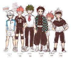 Otaku Anime, Manga Anime, Anime Guys, Anime Crossover, Fandom Crossover, All Anime Characters, Animé Fan Art, Black Clover Anime, My Hero Academia Manga