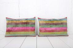 15 x 23 Decorative Pillow Accent Pillow Throw Pillow Silk by YASTK, $96.00