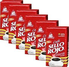 Cafe Sello Rojo 6 PACK Espresso Ground Coffee 6 x 500g *** Find out more about the great product at the image link. (This is an affiliate link and I receive a commission for the sales)