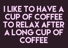 I'll have another cup...please ☕