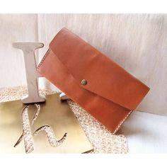 Personalized Leather Long Zipper Wallet | HarLex - very beautiful