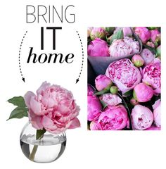 """Bring It Home: Peony Blossom"" by polyvore-editorial ❤ liked on Polyvore featuring interior, interiors, interior design, home, home decor, interior decorating, Diane James and bringithome"