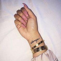 30 Wonderful Wrist Tattoos For Women - Bafbouf Et Tattoo, Piercing Tattoo, Cute Nails, Pretty Nails, Gel Nails, Nail Polish, Acrylic Nails, Wrist Tattoos For Women, Cool Nail Art