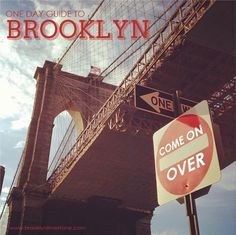 One Day Tourist Guide to Brooklyn [Free Download] | Brooklyn Limestone