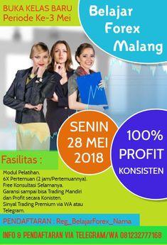 Pelatihan / Workshop Trading Forex Bulan Mei 2018 Kota Malang