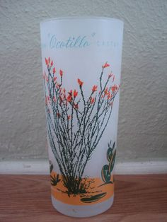 Vintage 1950s Blakely Cactus Tumblers Ocotillo by bycinbyhand, $16.00