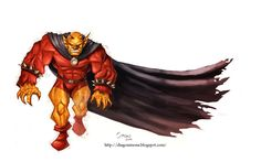 """On the """"superhero"""" genre, I have more simpathy for the classic characters. Etrigan the Demon, from the big Jack Kirby and property of DC Comics. Etrigan the Demon Dc Heroes, Comic Book Heroes, Comic Books, Spirit Of Vengeance, Demon Eyes, Justice League Dark, Comic Pictures, Comic Pics, Univers Dc"""