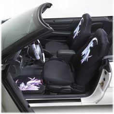 Amy Brown Moonsprite Fairy Bucket Seat Covers (Pair) Grey $45.99 ...