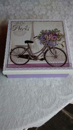 Caixa Bicicleta shaby chic