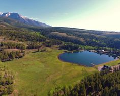 New listing! The Lazy H Ranch is a one of a kind opportunity to purchase one of Colorado's most recreational rich mountain escapes on the market. Colorado Mountains, Rocky Mountains, Flint Hills, Custer State Park, Pagosa Springs, Cottonwood Canyon, Ranches For Sale, Alpine Meadow, Guest Cabin