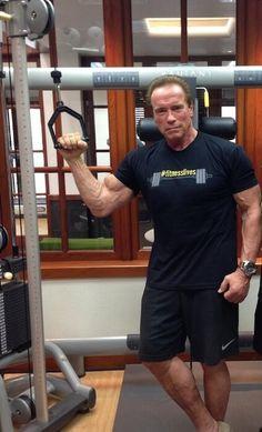 Arnold Schwarzenegger....