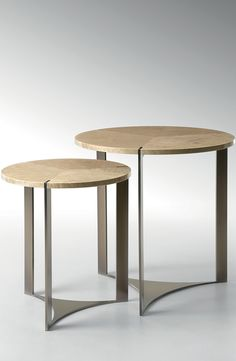 Tolomeo' side tables for Fendi Casa, New Collection September 2014 #luxury #living