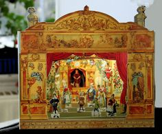 Replica of 1800's JF Schreiber toy theater found on eBay for under 30.00 US with shipping. Ships from Germany (currently out of stock but my fingers are crossed they will get more in soon)