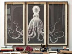 How To Make a DIY Octopus Triptych