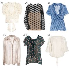 dots tops, polka dots, trends, the inspiration files