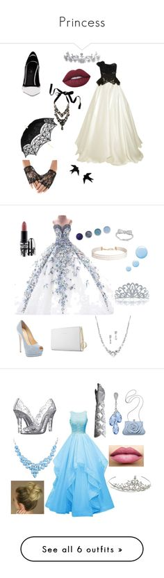 """""""Princess"""" by ashleymmck ❤ liked on Polyvore featuring Marchesa, Greymer, Lime Crime, Bling Jewelry, Giuseppe Zanotti, Humble Chic, Trussardi, Terre Mère, Topshop and MAC Cosmetics"""