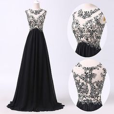 2015-Masquerade-Black-Evening-Homecoming-Prom-Bridesmaid-Party-Gown-Long-Dresses