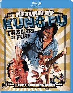 RETURN OF KUNG FU TRAILERS OF FURY BLU-RAY (SEVERIN FILMS)