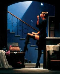 Jack Vettriano - Dancer for Money
