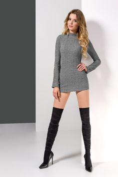 NESNA 18 #kneehigh #pattern #woman #legs #legwear #socks #zakolanówki #wzorzyste #kobieta
