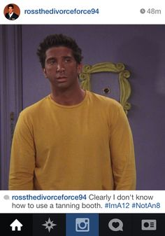 "Community Post: If Ross Geller From ""Friends"" Had Instagram"