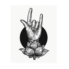 Mudra #illustration #blackworkers #tattoo #tattoos #blackink #ink #hand #handtattoo #yoga #yogatattoo #mudra #mudrahands #lotus #lotustattoo #tattooflash #karana #karanamudra