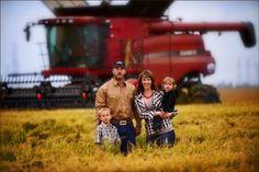 family farm pic except green :)