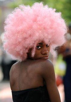 Inspiração: negras com cabelo colorido