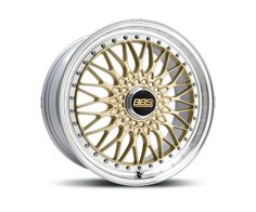 BBS SUPER RS GOLD DIAMANTGEDREHT