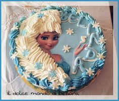 Cake frozen con panna