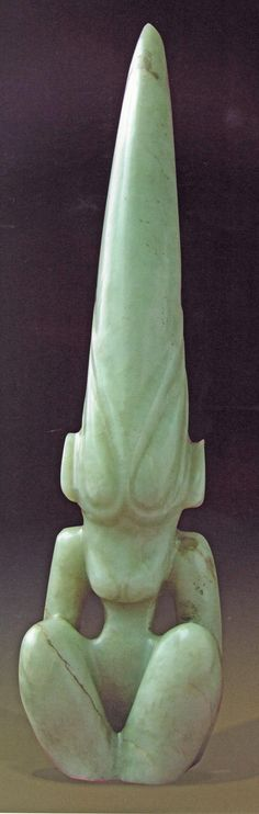 Hongshan culture (4700 to 3000 BCE) blossomed in what is now the Liaoning Province of the North East China and the eastern areas of Inner Mongolia. These artifacts are made of jade ( whose hardness on the Mohs scale is 7.00-similar to quartz, superior to pocketknife- 5.1;  knife blades or window glass plates- 5.5 and close to hardened steel-7.5-8.00!!!)