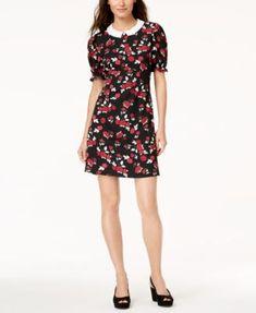 e819a1c06c9 Maison Jules Printed Peter-Pan-Collar Dress