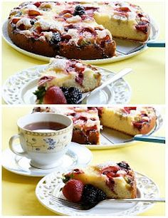 Fruit Packed Cake Pastry
