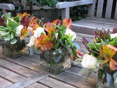 DIY Fall Flowers:  How to make $35 Flowers Look Like $120 by Hip Hostess