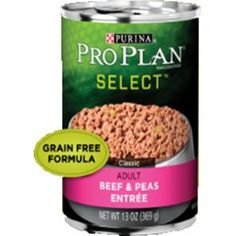 Nestle Purina Petcare 381727 12/13 oz Pro Plan Classic Beef/Pea Dog - You can read more reviews of the product by visiting the link on the image. (This is an affiliate link and I receive a commission for the sales)