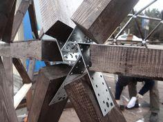 Купольный дом коннектор своими руками