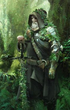 Elder by Eric Pfeiffer Forest knight Art