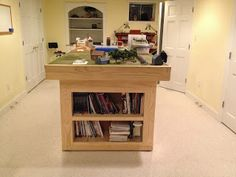 Lair of the Uber Geek: War Gaming Table Construction
