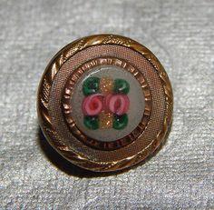 Antique-Brass-Glass-Button-Charm-String-Waist-Coat-883b