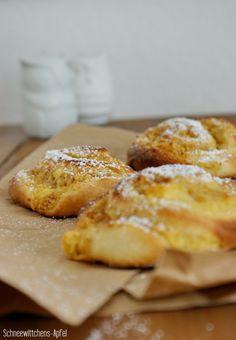 Schneewittchens Apfel: Apfel-Pudding-Zimtschnecken