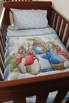 Peter Rabbit Quilt  | 33 Perfect Gifts For Book-Loving Babies