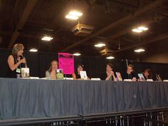 """The first panel attended was I Heart Love Stories with Christina Garcia, Jennifer Ziegler, Jenny Han, Christina Mandelski, Stephanie Perkins and Simone Elkeles. This was such a fun panel."""