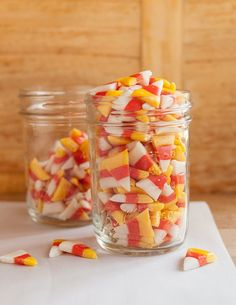 There is a particular emotion that comes from creating something that, up until that very moment, felt like the un-reproduceable creation of some industrial food lab. The feeling is a mixture of pride, satisfaction, and outright elation. It also feels a little like having super powers.        Make this recipe for candy corn and you can ride that emotion for days. Because by golly, you made candy corn! Sure, you can easily buy a bag of the stuff and save yourself the trouble, but that's no ...