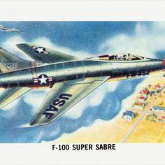 F-100 Super Sabre  -  Jeff Sexton - Google+