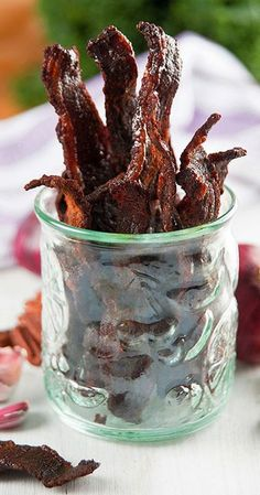 Not to be bragging but this is one of the best jerky recipes around! This recipe is for beef but when venison is available this jerky is outstanding.  [ingredients ...
