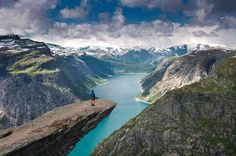 Breathtaking Views -Trolltunga - Norway