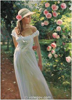 Park of Roses by Vladimir Volegov