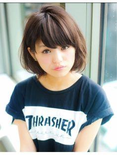 アフロート ジャパン AFLOAT JAPANナチュラル可愛いボブ~前髪&顔周りで見せる小顔カット~