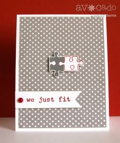 Super cute card created by @Ashley Walters Harris using the new All About Love stamp set!